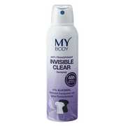 body Deospray Invisible Clear