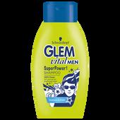 Bild: Schwarzkopf GLEM vital Men Super Power! Shampoo