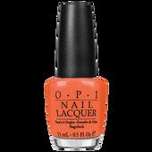 Bild: O.P.I Nail Lacquer hot & spicy