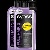 Bild: syoss PROFESSIONAL Full Hair 5 Shampoo + gratis Profi-Pumpe