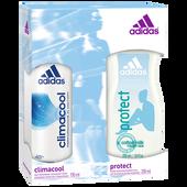 Bild: adidas for Women Climacool & Protect Pflegeset