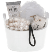 Bild: Pure Set Pure Holzkübel Körperpflege