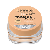 Bild: Catrice 12h Matt Mousse Make Up soft ivory