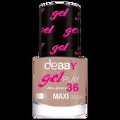 Bild: deBBY Gel Play Nagellack pastel kaki