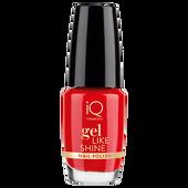 Bild: iQ COSMETICS Gel Like Shine Nail Polish passion red