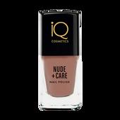 Bild: iQ COSMETICS Nude + Care Nail Polish oldrose