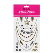 Bild: LOOK BY BIPA Bling Style Metallic Tattoos