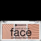 Bild: Essence Light Up Your Face Luminizer Palette
