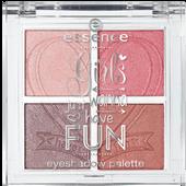 Bild: Essence Girls Just Wanna Have Fun Eyeshadow Palette