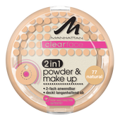 Bild: MANHATTAN Clearface 2in1 Powder & Make-up natural