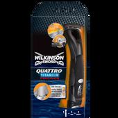 Bild: Wilkinson Quattro Titanium Precision Apparat