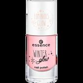 Bild: Essence Winter Glow Nail Polish 04 let it glow!
