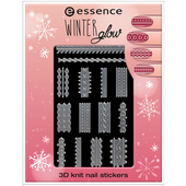 Bild: Essence Winter Glow 3D Knit Nail Stickers