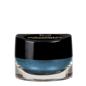 Bild: iQ COSMETICS Velvet Shine Shadow Cream petrol