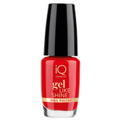 Bild: iQ COSMETICS Gel Like Shine Nail Polish passion red
