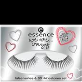 Bild: Essence We Are... Crazy False Lashes & 3D Rhinestone Set