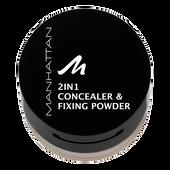 Bild: MANHATTAN 2in1 Concealer & Fixing Powder warm beige