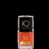 Bild: iQ COSMETICS Colour Flash Nail Polish orange flash
