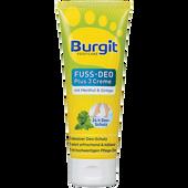 Bild: Burgit Footcare Fuß-Deo Plus 3 Creme
