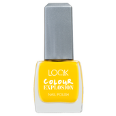 Bild: LOOK BY BIPA Colour Explosion Nagellack flashy yellow