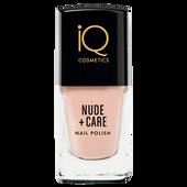 Bild: iQ COSMETICS Nude + Care Nail Polish peach