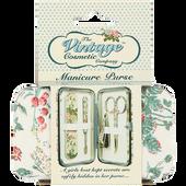 Bild: The Vintage Cosmetic Company Manikürset blumig