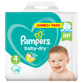 Bild: Pampers Baby-Dry Gr. 4 (8-16kg) Jumbopack