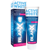 Bild: BLANX White Shock Zahnschmelzschonende Zahncreme