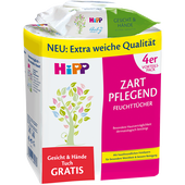 Bild: HiPP Feuchttücher Zart pflegend plus gratis Gesicht & Hände Tücher