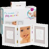 Bild: My Sweet Memories Doppelbilderrahmen mit Gipsabdruckset