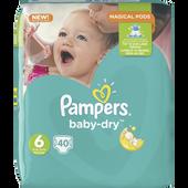 Bild: Pampers Baby-Dry Gr. 6 (15+kg)