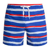 Bild: p2 beach Shorts lightblue-red
