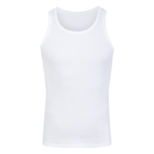 Bild: p2 Cotton Men Rib Tanktop white