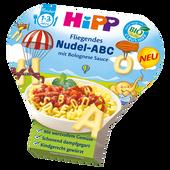 Bild: HiPP Nudel-ABC mit Bolognese Sauce