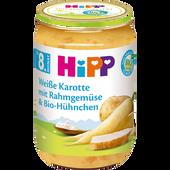 Bild: HiPP Weiße Karotte mit Rahmgemüse & Hühnchen
