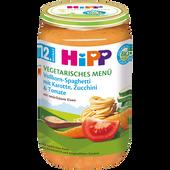 Bild: HiPP Vollkorn-Spaghetti mit Karotte, Zucchini und Tomate