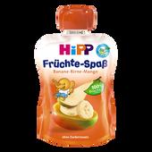 Bild: HiPP Früchte-Spass Banane-Birne-Mango
