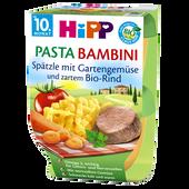 Bild: HiPP Pasta Bambini Spätzle m. Gemüse & Rind