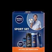 Bild: NIVEA MEN Sportset inklusive Trinkflasche