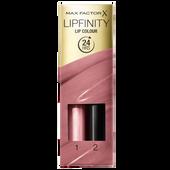 Bild: MAX FACTOR Lipfinity Lip Colour pearly nude