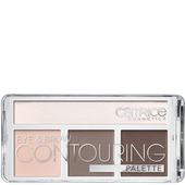 Bild: Catrice Eye & Brow Contouring Palette 010 But First, Cold Chocolate!