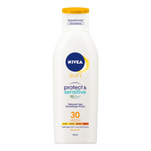 Bild: NIVEA protect & sensitive Sonnenlotion LSF30