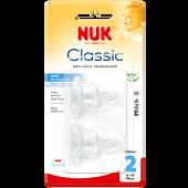 Bild: NUK Silikon Anti-Colic Sauger Gr.2 für Milch