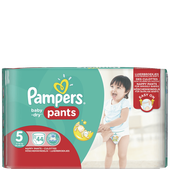 Bild: Pampers Baby-Dry Pants Gr. 5  (12-18kg) Big Pack
