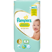 Bild: Pampers premium protection new baby Windeln Gr. 3 (5-9kg) Value Pack
