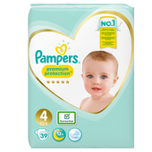 Bild: Pampers premium protection Windeln Gr.4 (8-16kg) Value Pack