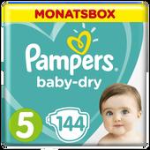 Bild: Pampers Baby-Dry Gr. 5 (11-25kg) Monatspack