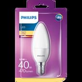 Bild: PHILIPS LED Kerze (40W) E14 matt