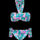 Bild: p2 Tropical Flower Padded Bandeau Bikini