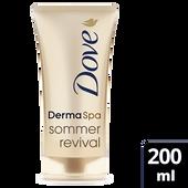 Bild: Dove DermaSpa Sommer Revival Bodylotion mittel/dunkel